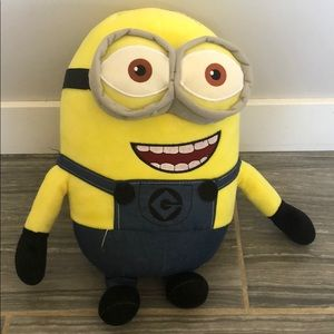 "Minion stuffy 16"" by 8"""